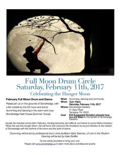2-11-2017-full-moon-drum-circle-at-stonehedge-gardens-south-tamaqua