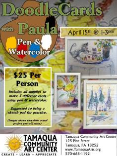 4-15-2017-doodle-cards-with-paula-pen-and-watercolor-at-tamaqua-community-art-center-tamaqua