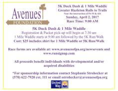 4-2-2017-5k-duck-dash-1-mile-waddle-at-greater-hazleton-rails-to-trails-hazleton