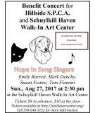 8-27-2017, Hope In Song Singers, benefits SPCA, at Walk In Art Center, Schuylkill Haven