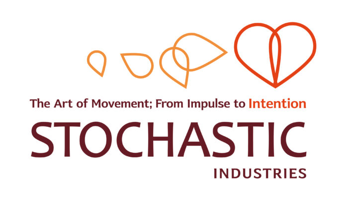 Logo animation for Stochastic Industries