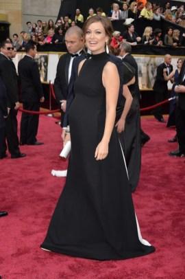 Olivia Wilde wearing Maison Valentino