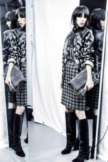 Lanvin Dogtooth - Pre-Fall 2015
