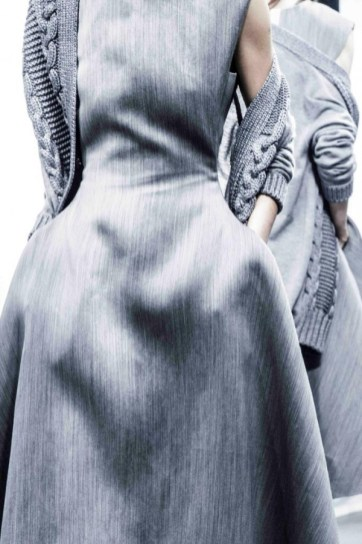 Lanvin Grey Dress - Pre-Fall 2015