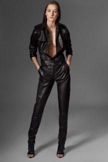 Mugler Leather Jumpsuit - Pre-Fall 2015