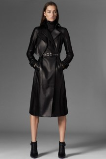Mugler Leather Trench - Pre-Fall 2015