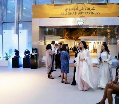 Tamara & Sara at the opening of Abu Dhabi Art 2015