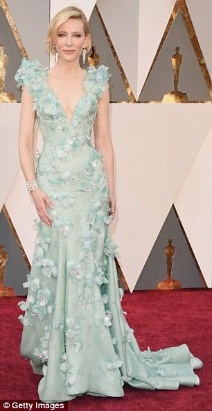 Cate Blanchett - in Armani Prive - Oscars 2016