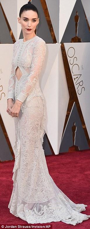Rooney Mara - in Givenchy - Oscars 2016