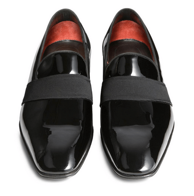 Tom Ford - Gianni Patent Leather Evening Loafer