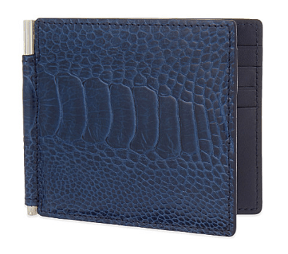Tom Ford - Ostrich leather wallet
