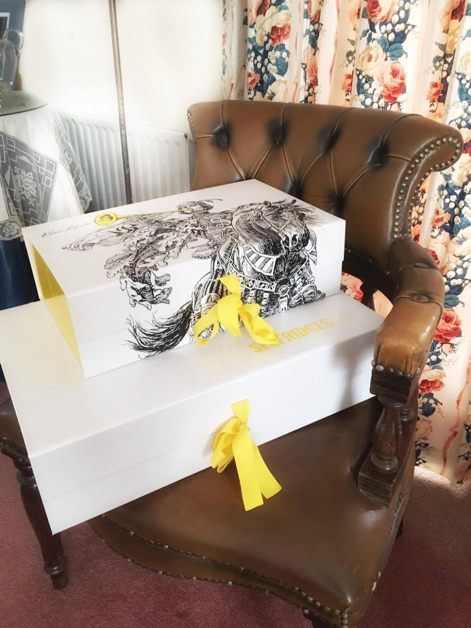 Selfridges Online Delivery Packages