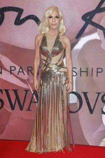 Donatella Versace - British Fashion Awards 2016