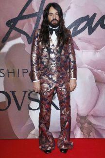 Alessandro Michele in Gucci - British Fashion Awards 2016