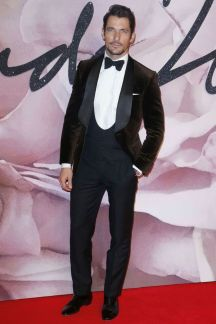 David Gandy in Marks & Spencer and Chopard - British Fashion Awards 2016