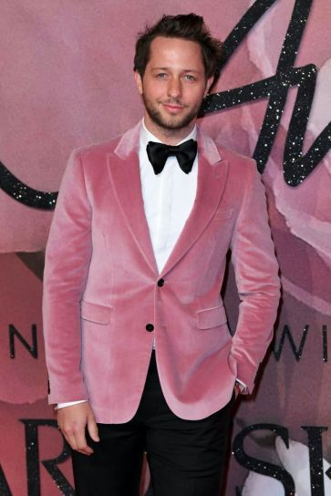 Derek Blasberg - British Fashion Awards 2016