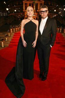 Lady Gaga and Brandon Maxwell - British Fashion Awards 2016