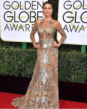 Sofia Vergara is Zuhair Murad Golden Globes 2017