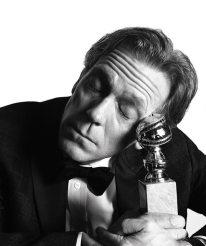 Hugh Laurie - won Best Support Actor in a TV Series - Picture by Mert Alas & Mac Piggott - Golden Globes 2017