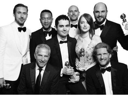 La La Land - won best Motion Picture - Musical - Picture by Mert Alas & Mac Piggott - Golden Globes 2017