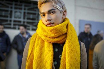 Street Style & Front Row Missoni Menswear F/W 2017 Milan 4