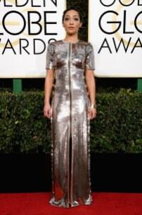 Ruth Negga in Louis Vuitton Golden Globes 2017
