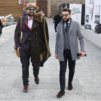 Street Style - Pitti Uomo 91 - Florence Fall Winter 2017