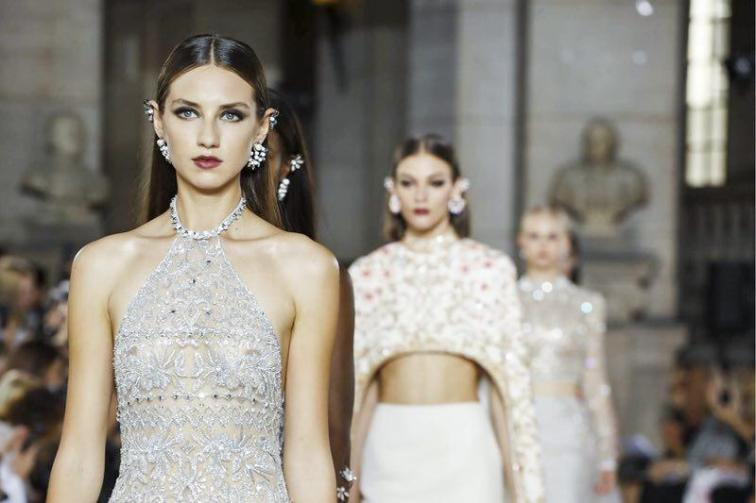 Georges Hobeika Couture Fall Winter 2017 Paris Couture Week