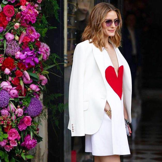 Olivia Palermo - Street Style Paris Couture Week F:W17