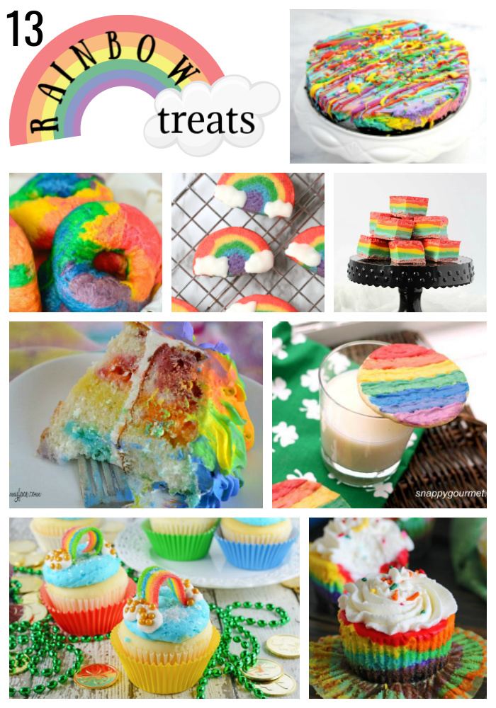 13 Rainbow Treats