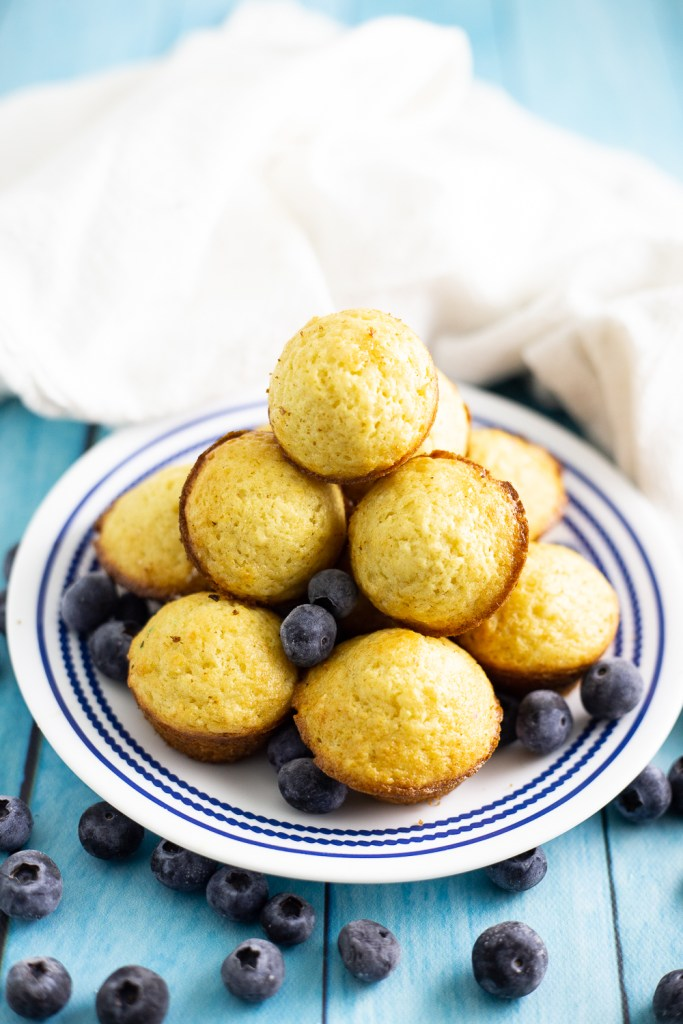 Blueberry Pancakes Mini Bites are perfect for everything breakfast and brunch related! Make them for sleepovers or weekend brunches and they freeze well too