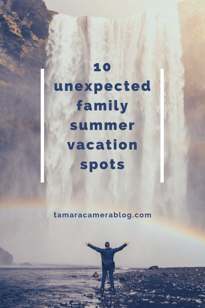 With summer quickly approaching, it's time to plan out those family vacations. Here are 10 fantastic summer vacation spots for you and your family to enjoy.