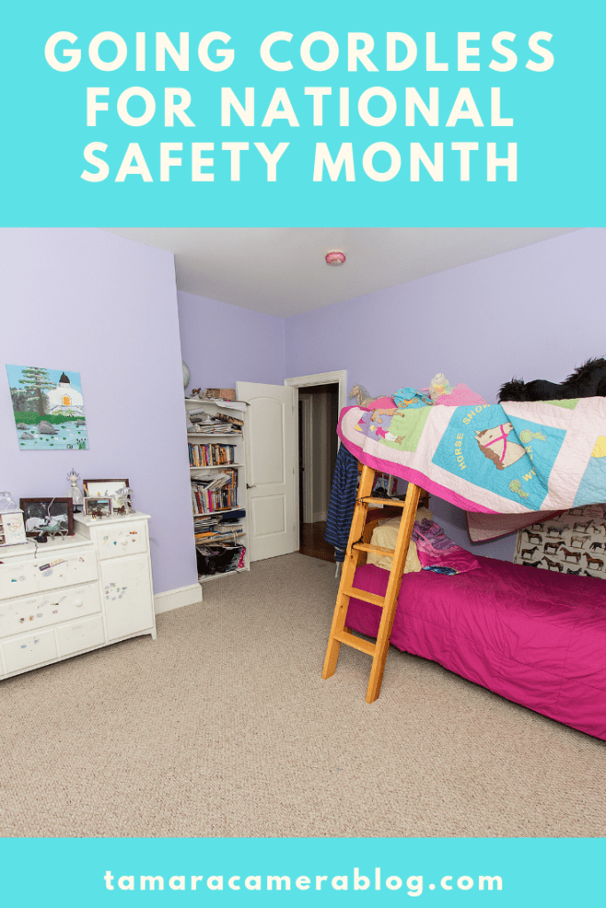 For National Safety Month we're talking about going cordless since cords are one of the top 5 home hazards. Find out more info here #CordlessForKids #IC #ad