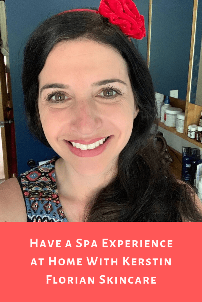 #ad Have a spa experience at home with Kerstin Florian. Watch my product review video and see what keeps me glowing and healthy all day long #kerstinflorian