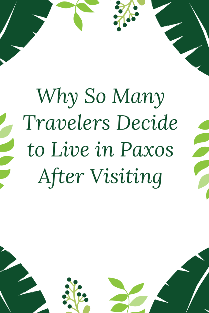 Paxos has been described as one of the world's Top Twenty Great Escapes. It is not difficult to see why people love this place.