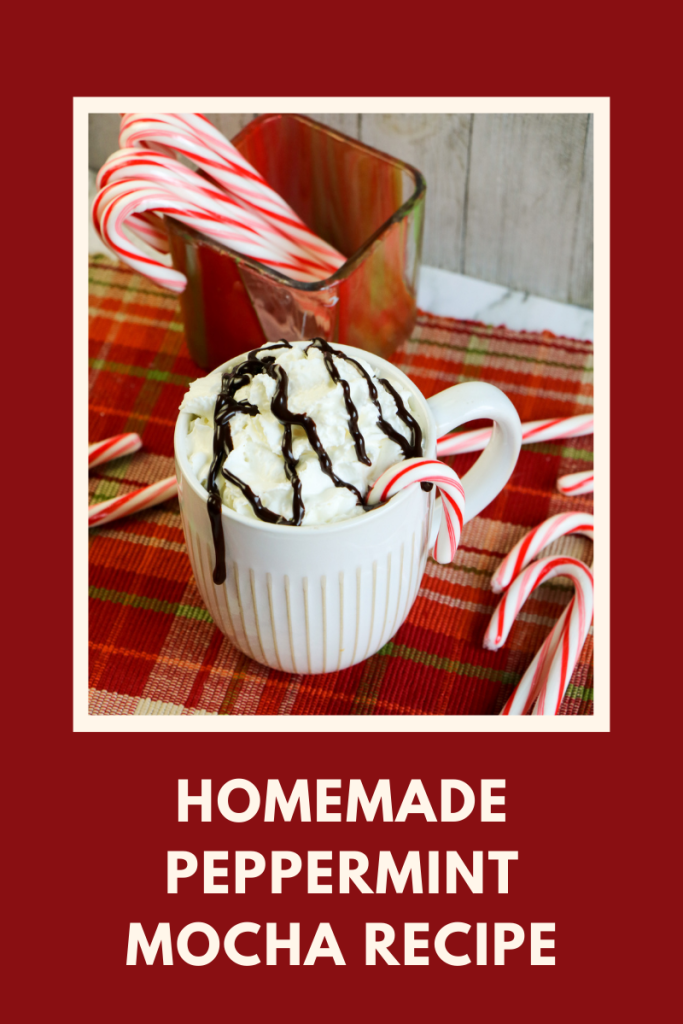 This Homemade Peppermint Mocha recipe is such a cozy and delicious delight for the holiday season, and for all of winter too.