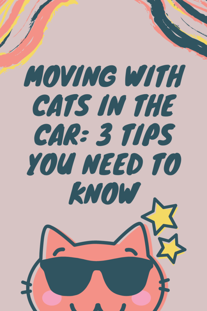 Moving with Cats in the Car: 3 Tips You Need to Know. Cats are not good travelers. Here are tips on making the most of your move with your cat