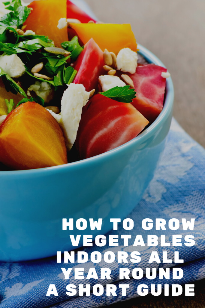 How to Grow Vegetables Indoors All Year Round - A Short Guide. Once you're done reading, you should become an expert gardener in no time!