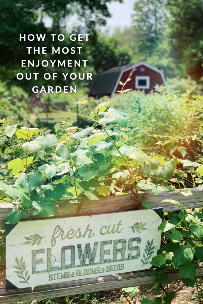 If you have a garden, you have a chance to spend time in sunshine and nature. Here are tips for how you can get enjoyment out of your garden.
