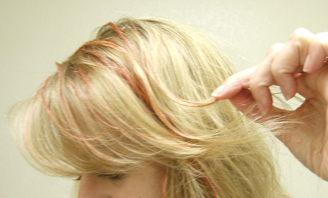 White Glue as Hair color