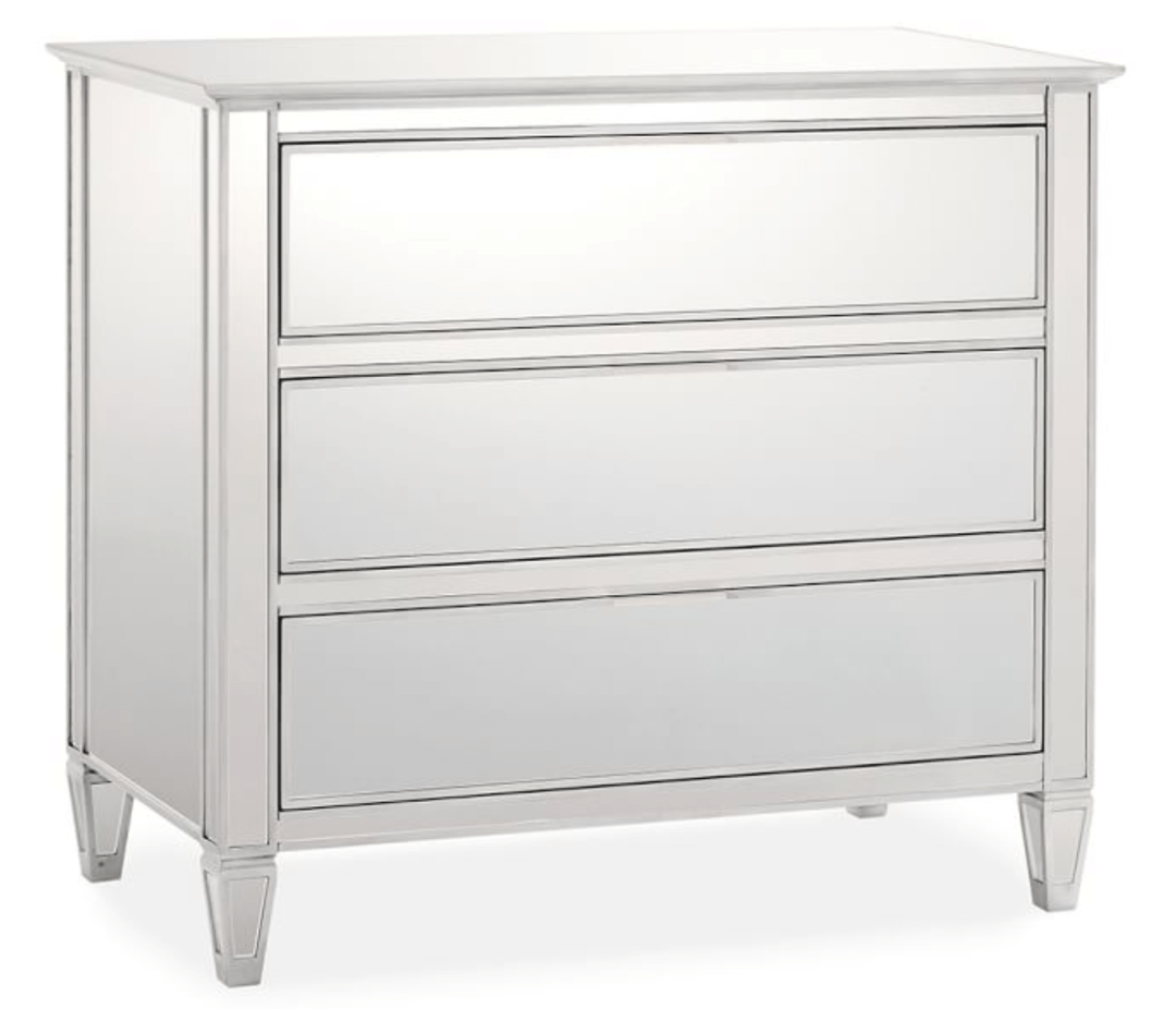 Pottery Barn Mirrored Dresser