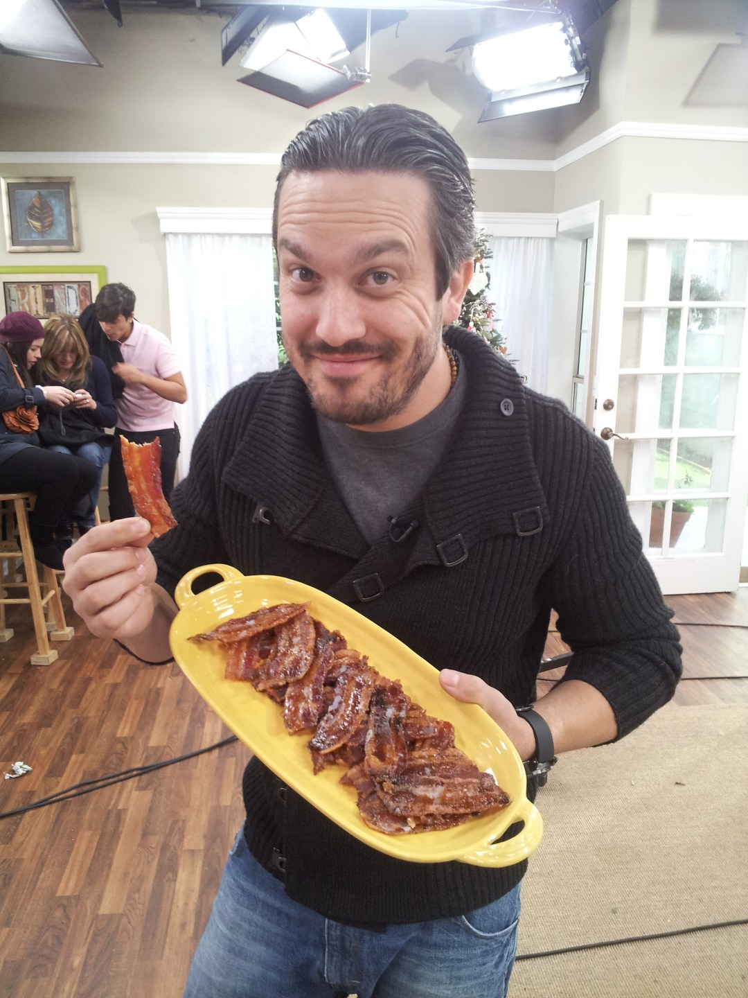 Fabio Vivianni Loves my Candied Bacon!