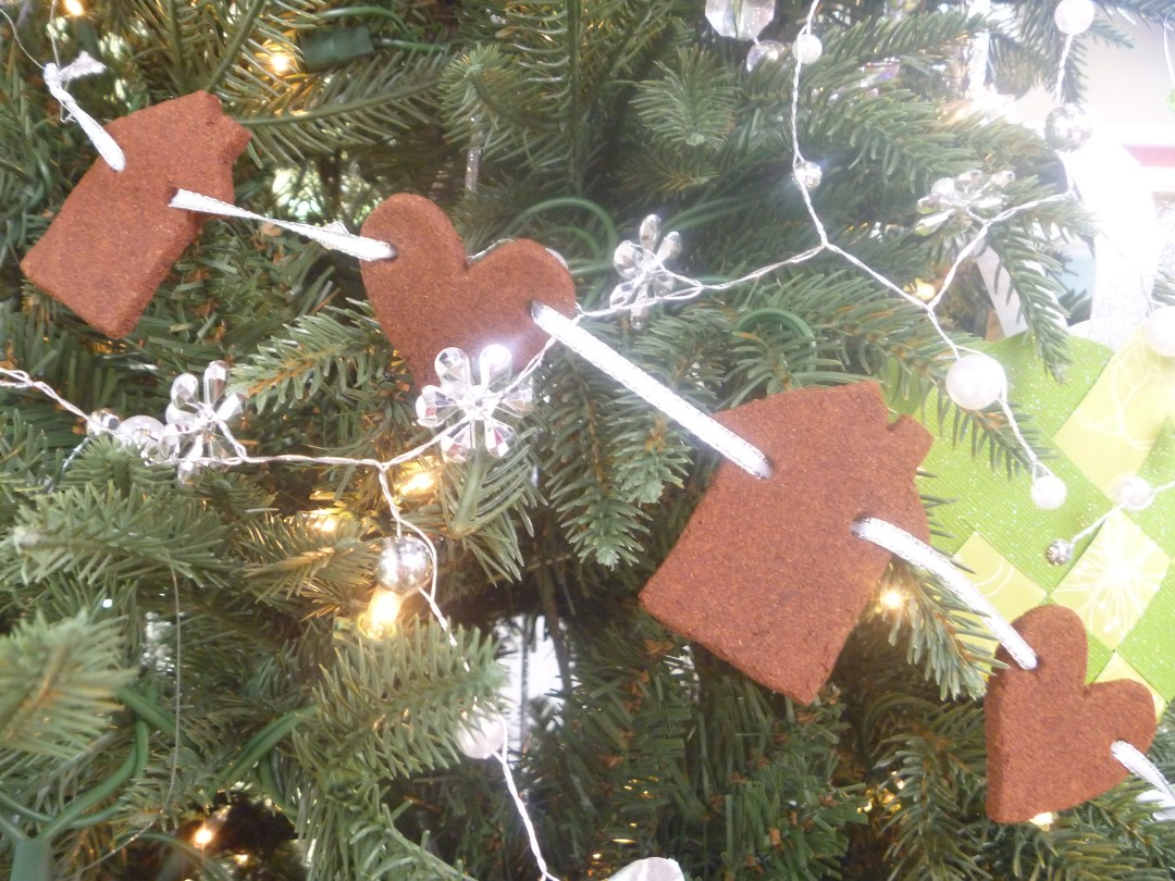 Handmade Paper Christmas Ornaments