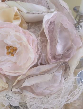 Fabric Flowers DIY