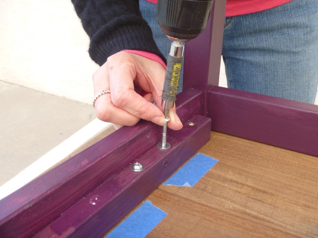 Securing screws