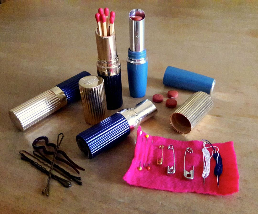 Upcycling Lipstick Tubes