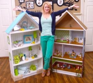 Ikea Hack Doll House Bookcase