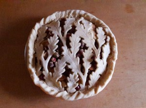 Cranberry Apple Pie -- Tamara Central