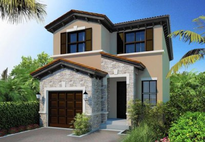 Exterior Rendering by Central Homes