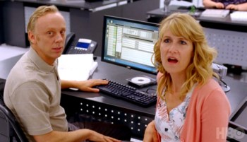 Mike White and Laura Dern in Enlightened